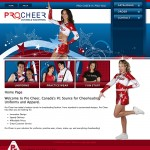 Pro Cheer Website