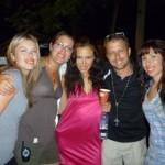 The Crew: Vanessa, Robbin, me, Greg and Shantelle