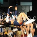 back flip in action